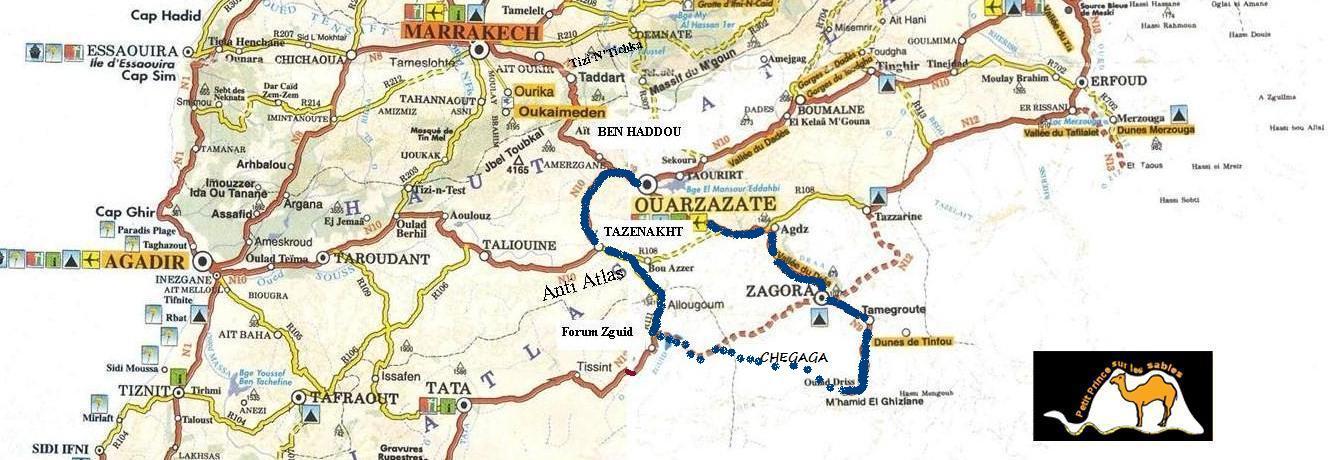 Tour marocco deserto 4 giorni